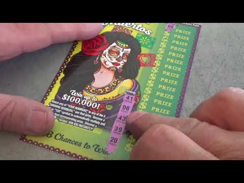 #108 Lottery Scratcher Tickets Nevada Arcade & Yoshi Lotto Fun