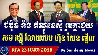 រដ្ឋាភិបាល ជប៉ុន និង ឥណ្ឌូនេស៊ី ចេញមុខជួយលោក សម រង្ស៊ី, Cambodia Hot News, Khmer News