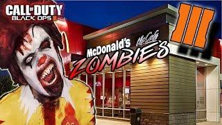 "Call of Duty Black Ops 3 Zombies SPEEDRUN ""Save THE SECRET RECIPE"" McDonalds Zombies"