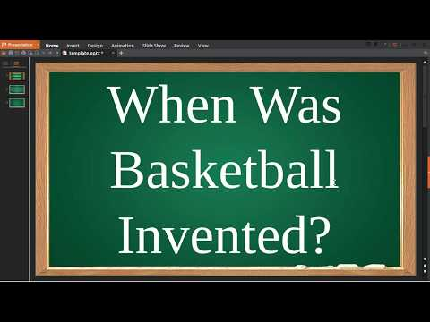 When Was Basketball Invented