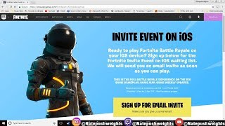 How to Download FORTNITE MOBILE IOS/ANDROID
