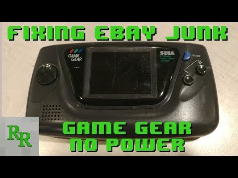Game Gear - No Power - Fixing eBay Junk