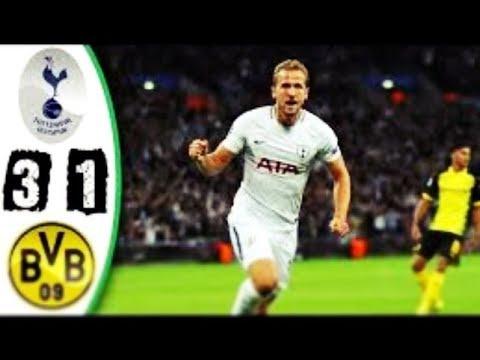Tottenham 3-1 BVB Dortmund | UEFA Champions League | All goals & highlights