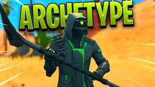 New Fortnite ARCHETYPE SKIN Victory Royale Gameplay..