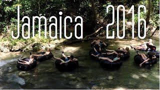 Jamaica || Dunn's River Falls and Inner Tubing