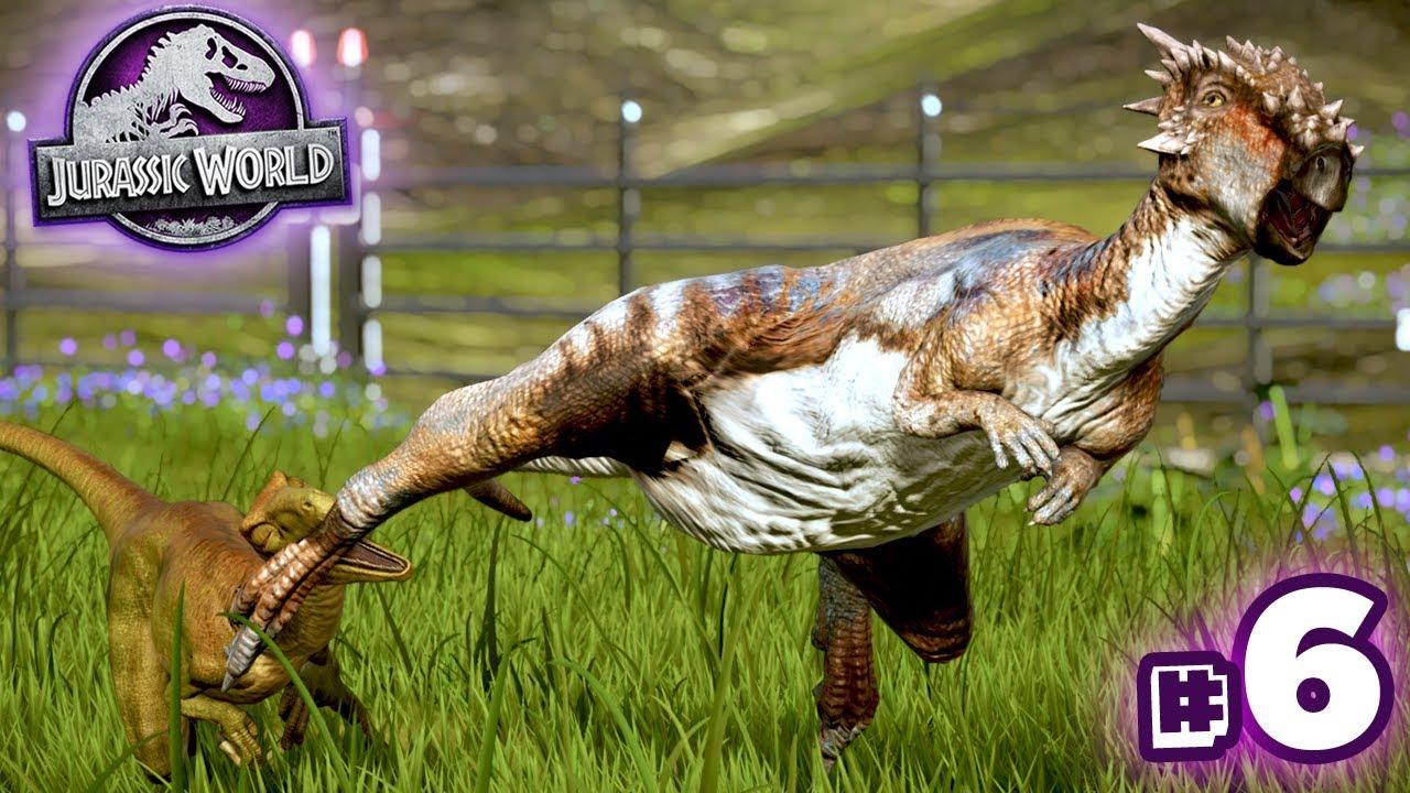Gotcha Leg Jurassic World Evolution Secrets Of Dr Wu Ep6 Hd Youtube