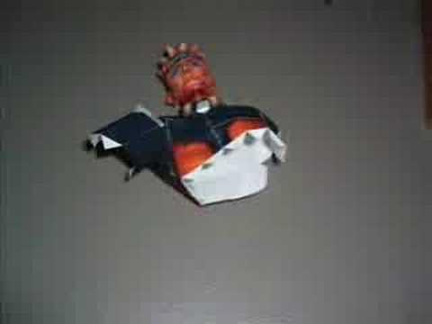 creation of naruto papercraft youtube