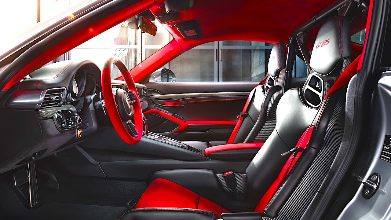 porsche 911 gt2 rs interior weissach package 2018 gt2 rs. Black Bedroom Furniture Sets. Home Design Ideas