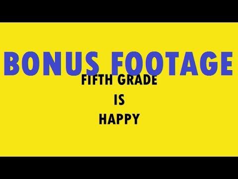 Happy BONUS FOOTAGE - 5th Grade at West Hills Christian School - Mr. Riedl