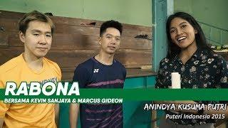 Jawab Cepat: Kevin Sanjaya / Marcus Gideon Bersama Anindya Putri #Rabona