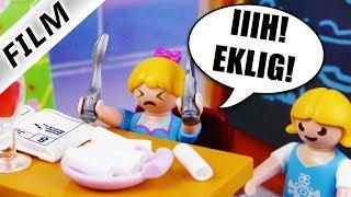 Playmobil Film Deutsch KREIDE ZUM FRÜHSTÜCK! HANNAHS MUTPROBE IN DER FREISTUNDE - Familie Vogel