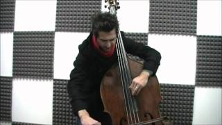 Silent night, holy night! Double Bass