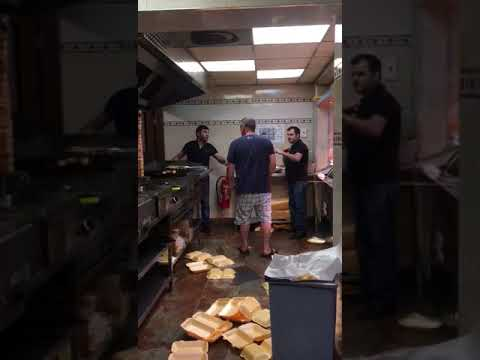 Biggest Fight in Greek Restaurant I What's problem here ?