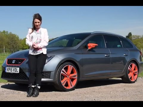 seat leon st cupra 280 review 2015 telegraph cars youtube. Black Bedroom Furniture Sets. Home Design Ideas