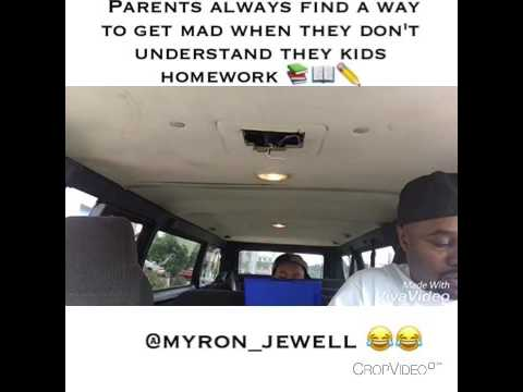 When parents don't understand they kids homework