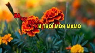 Віталій Козловський - Чорнобривці (караоке версія)
