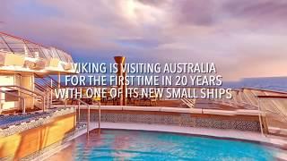 Onboard Viking Cruises' small-ship Viking Sun
