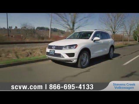 2016 Volkswagen Touareg Review | Steven's Creek VW serving San Jose, CA