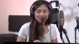 Sarah Geronimo recording LIVE! [never-before-seen]