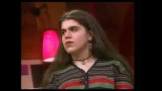 "Clip from ""Christopher E!"" - Teen Talk Show, Topic: ""Eating Disorders - Teens Dying to Survive"""
