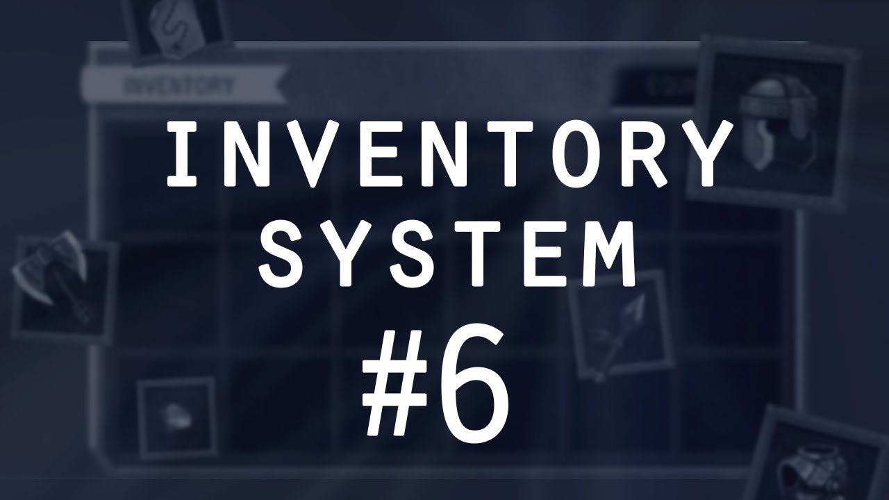 Item Tooltip Implementation - Items & Inventory in Unity (pt 6)
