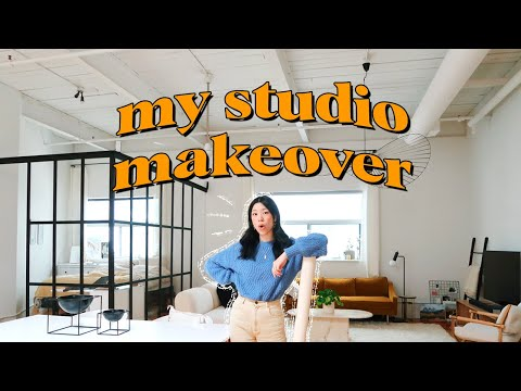 ultimate studio apartment makeover + tour | WITHWENDY