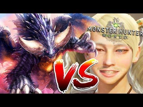Monster Hunter World Solo Hunts - Insect Glaive EZ Mode VS Negigante