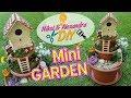 How To Make A Miniature Garden In A Flower Pot