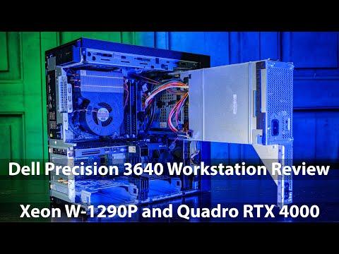 Dell Precision 3640 Workstation Review