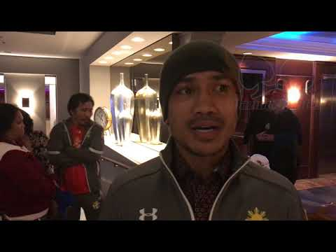 [Exclusive] Mercito Gesta interview after his fight with Jorge Linares