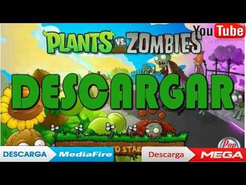 Descargar PLANTS VS ZOMBIES Para ✔️PC En ✔️ESPAÑOL FULL 2019 😱 [MEGA-MEDIAFIRE]
