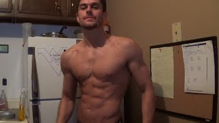 6 Weeks Out - Natty Physique Competitor Vincent Filia