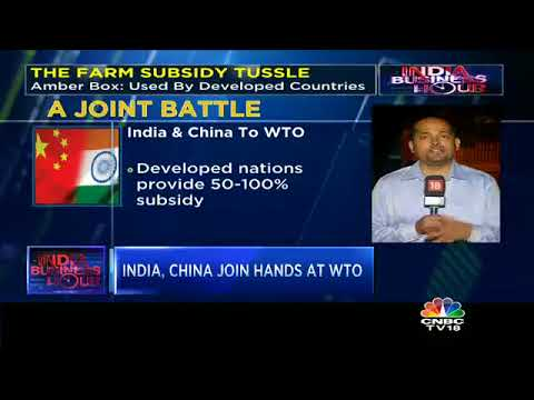 India, China Join Hands At WTO: Oppose 'Amber Box' Subsidy