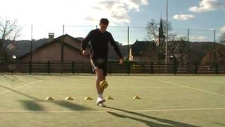 Soccer Tips:  Improve your Ballcontrol in Football Part.1