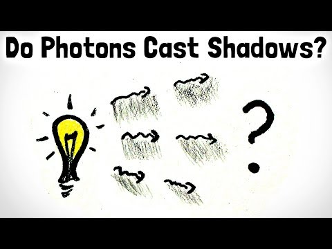 Do Photons Cast Shadows?