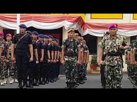 Yel - Yel TNI - POLRI terbaru semangat Merah Putih