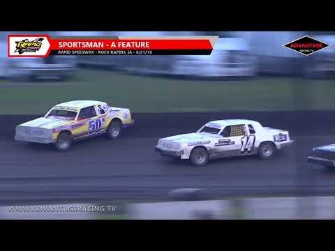 Sportsman/Hobby Stock Features - Rapid Speedway - 6/21/19