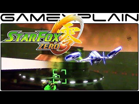 NEW Star Fox Zero - Zoness & Gyrowing Gameplay