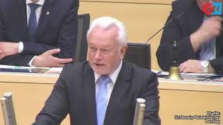 Abschied: Wolfgang Kubicki (FDP) den Tränen nahe
