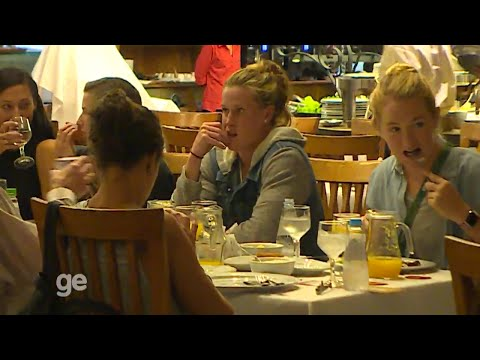 USWNT helps themselves to Brazilian cuisine