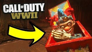 COD WW2 Zombies GAMEPLAY - The BEST Thing From The MYSTERY BOX!!