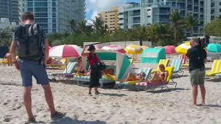 Models Devon Windsor, Olivia Culpo And Daniela Braga Filming A Reality Show In Miami Beach !