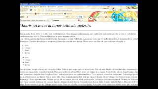 Видео-уроки по HTML. Урок 5. Автор: Ольга Новокрещёнова