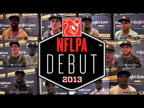Panini America On Location at the 2013 NFL Draft: The NFLPA Rookie Debut