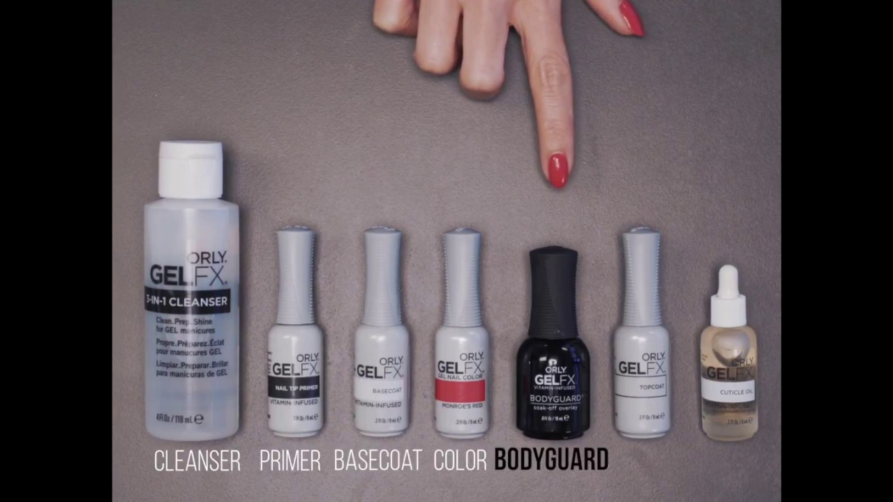 Orly Gel Fx Nail Polish Review - Creative Touch