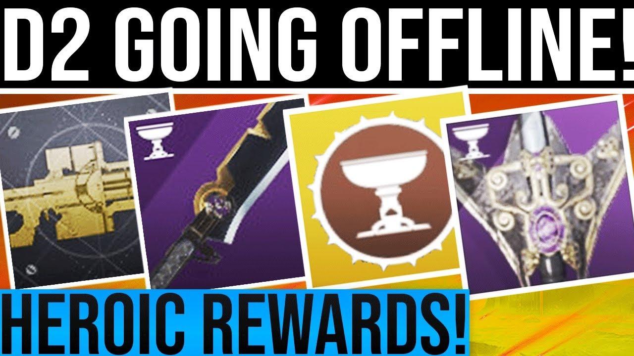 Repeat Destiny 2  NIGHTFALL CHANGE & HEROIC REWARDS! Huge