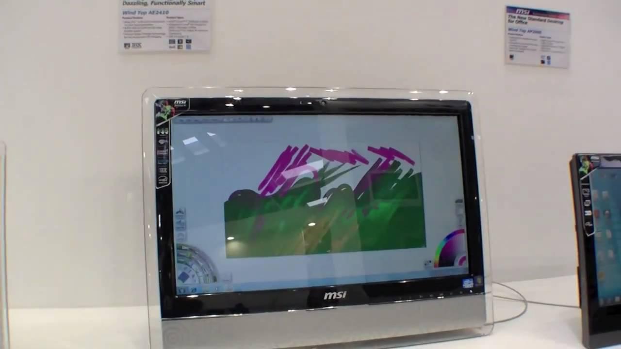 MSI Wind Top AE2410 Drivers for Windows Mac