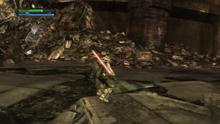Star Wars: The Force Unleashed - 4K 60 FPS ULTRA / Max Settings PC - Raxus Prime, Planet of Junk