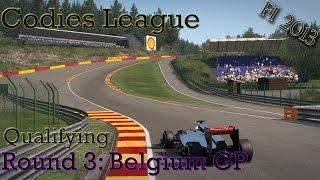 F1 2013 - Codies League (PC) - Round 3: Spa Francorchamps, Belgium - Qualifying