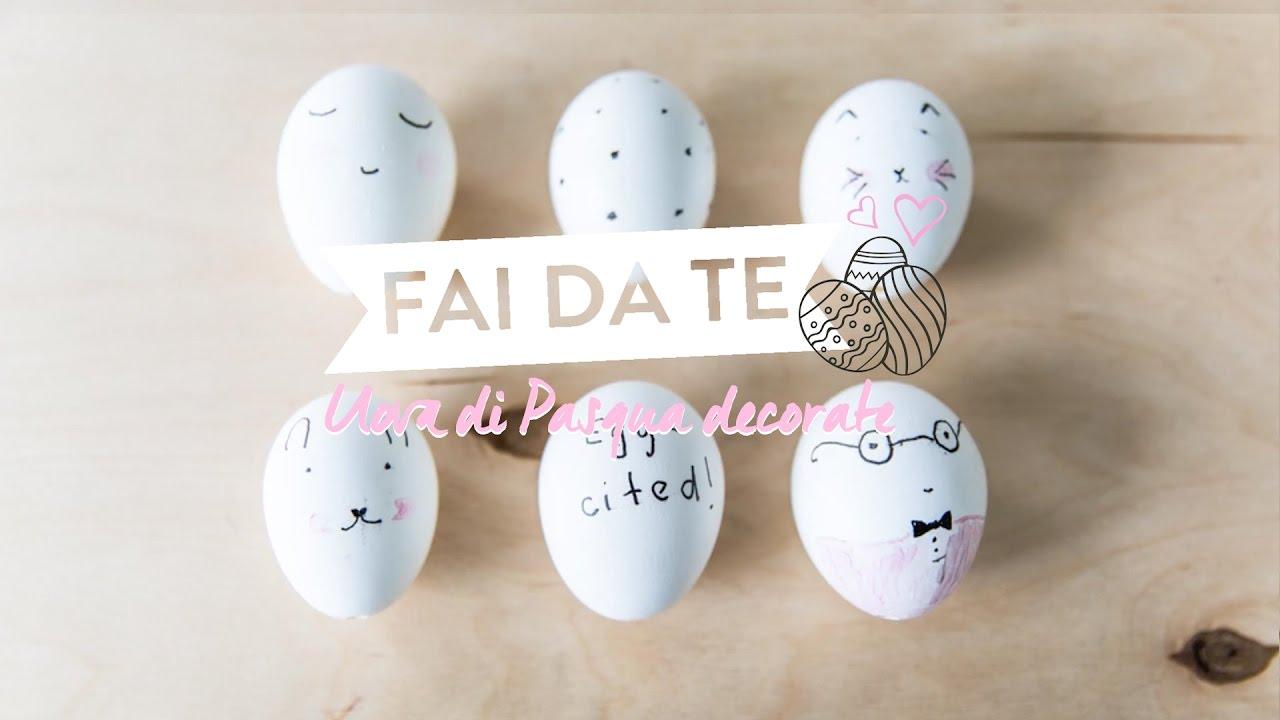 Simpatiche uova di pasqua decorate a mano westwing youtube - Uova di pasqua decorati a mano ...